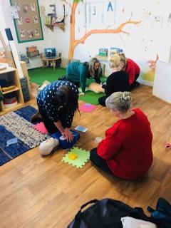 bright sparks child care castleford