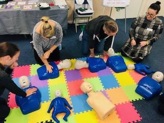 paediatric first aid training